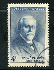 STAMP / TIMBRE FRANCE OBLITERE N° 551 PHYSICIEN ANDRE BLONDEL