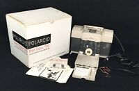 Vintage Polaroid Print Copier Model 240 in Original Box Manual Instructions USA