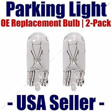 Parking Light Bulb 2-pack OE Replacement Fits Listed Isuzu Vehicles - 194