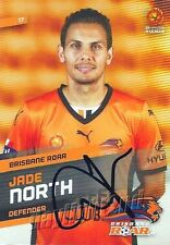 ✺Signed✺ 2013 2014 BRISBANE ROAR A-League Premiers Card JADE NORTH