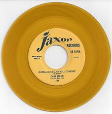 Rockabilly Reissue45-Carl Mann & The Kool Kats-Gonna Rock And Roll Tonight-Jaxon