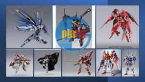 Brand New Bandai Metal Build Gundam Action Figures