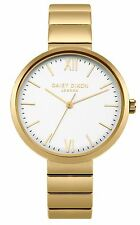 Daisy Dixon Victoria Gold Bracelet Watch With White Dial