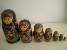poupées russes authentiques, Izmaïlovo Moscou année 1990