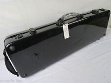 Black color hard fiberglass 4/4 violin case ,fine workmanship MA