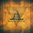 """Kydex Infused Don't Tread on Me Battle W/ Black Kydex Approx 7 7/8"""" x 7 7/8"""""""