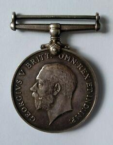 British War Medal Royal Naval Reserve POTTINGER Shetland Isles & Orkney