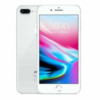 Apple iPhone 8 PLUS 64GB Argento Sbloccato Garanzia di 1 anni A1897 (GSM)