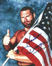 m542  Hacksaw Jim Duggan signed wrestling 8x10 w/COA