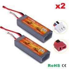 7.4v 5200mah 2s 30c Lipo Battery Hard Case Deans Plug for RC Car Airplane Hobby