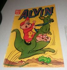 Alvin #8 and the chipmunks 1964 Dell comics Silver age classic cartoon tv show