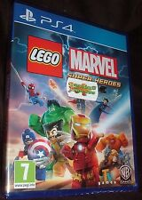 LEGO Marvel Super Heroes Playstation 4 PS4 NEW SEALED FREE UK Delivery