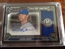 2016 Topps Museum Collection SSD-JD Jacob deGrom  072/199 Auto Dual Relic