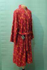 Wunderschöner Bade Morgen Mantel von Framsohn Gr 40/M vintage rot retro Damen