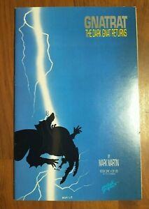 Gnatrat The Dark Gnat Returns #1 Homage Cover & Batman Dark Knight Parody 1986