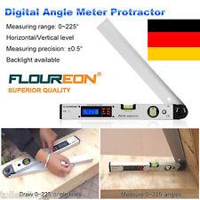 LED 0~225° Elektronisch Digitale Winkelmesser Winkelmeßgerät Wasserwaage/Meter