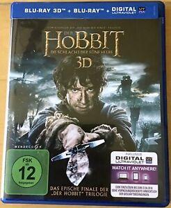 Tolkien - Der Hobbit - Die Schlacht der fünf Heere -  3D, 2D - 4Discs