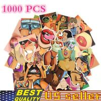 1000PC Sexy Girl Stickers For Sticker Bomb Laptop Luggage Decals Random Send lot