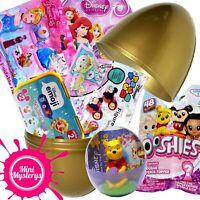 DISNEY SURPRISE EGG TOYS BUNDLE - Emoji, Tsum Tsum, Princess, Ooshies Blind Bags