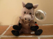 Coca-Cola 1999 Beanie Plush LORS THE WILD BOAR -ITALY Soft Toy- Rare Vintage
