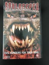 Soulkeeper VHS Tape English with dutch subs Horror