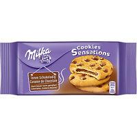 Milka Sensations Choco Inside Cookies with Swiss Alp Milk Chocolate Bits 156g