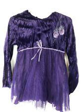 Boutique Balu Hand Painted Dress Girl 4 Purple