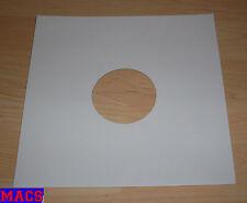 5 Papierhüllen weiss white für Schallplatten Cover Karton 25 cm 10 inch Zoll Neu