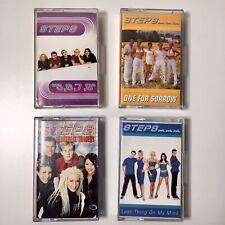 Steps Cassette Bundle x4 5 6 7 8 Heartbeat Tragedy One for Sorrow 90s