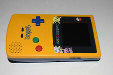 Nintendo Game Boy Color Pokemon Yellow CGB-001 Handheld Game System Complete
