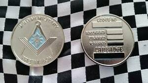 British Military Masonic silver colour coin (Unengraved) Entered, Passed, Raised