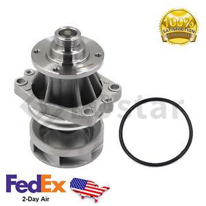 Water Pump (Metal Impeller) + Gasket for BMW X3 X5 E36 E39 E46 325i 328i 525i