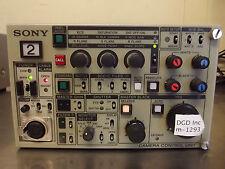 Sony Model CCU-550D Professional Studio Camera Control Unit-Powers Up-Nice-m1293