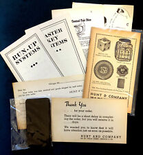 Original Hunt & Co Gambling/Cheating Collection
