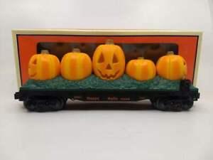 Lionel 6-37015 Jack-O-Lantern Flatcar LN/Box
