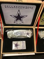 Dallas cowboys logo knife and lighter set NFL Football Team