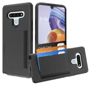For LG Stylo 6/ Phone Case Card Wallet Holder Slot Hard Cover