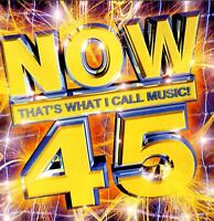 NOW THAT'S WHAT I CALL MUSIC 45 various (2X CD, compilation, 2000)
