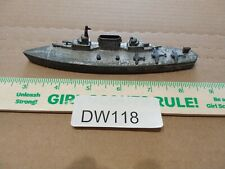 Dw118 Vintage Tootsie Toy Aircraft Carrier Boat With Planes Metal Toy 6�