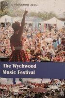 The Wychwood Music Festival 2015 Programme.Boney M/Undertones/Proclaimers+