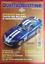 RIVISTA QUATTRORUOTINE MODELLISMO N° 196 DEL 1996 FERRARI  PORSCHE AUTO POLIZIA