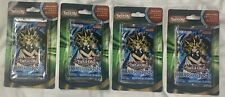 Yugioh! 4 Sealed DARK CRISIS Blister Booster Packs BONUS Cards Box Lot 100% NEW