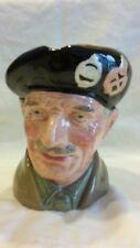 "Royal Doulton ""Monty"" D6202 Large Character Jug 6"" High, great facial details"