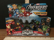 BONKAZONKS Marvel Universe #035 NICK FURY Spinner 35 Series 1 Iron Man Avengers