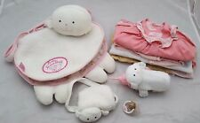 ZAPF CREATION BABY ANNABELL CLOTHES WITH CHANGING BAG & ACCESSORIES BUNDLE lot 1