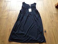 A GLOW women's NWT maternity sz XS sleeveless black sundress cotton blend