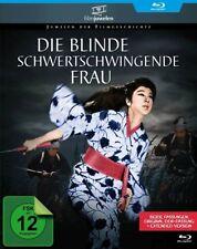 Die blinde schwertschwingende Frau (DDR + Original-Fassung) Blu-ray Disc NEU+OVP
