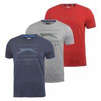 Mens T-shirt  Slazenger Graphic Crew Neck  Tee  Top Kinley