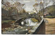 Rydal. Pelter Bridge-1905 Used P/C-(Pub:S.Hildesheimer & Co) - VGC !