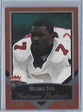 2002 Fleer Platinum Michael Vick Platinum Portraits!! (Falcons) #4